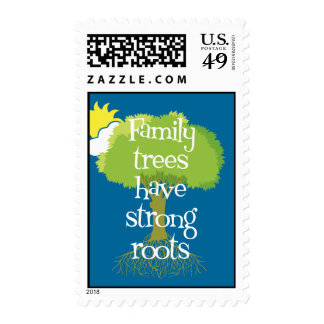 Family Trees Have Strong Roots Postage