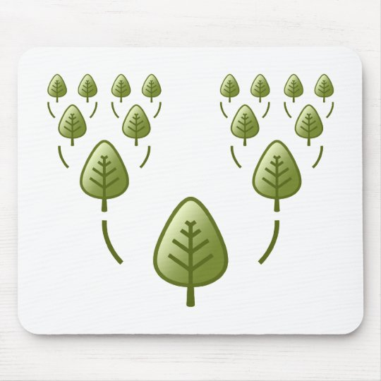 Family Trees Mouse Pad