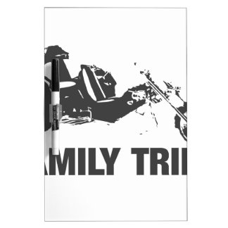 family trike dry erase board