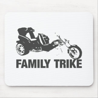family trike mouse pad