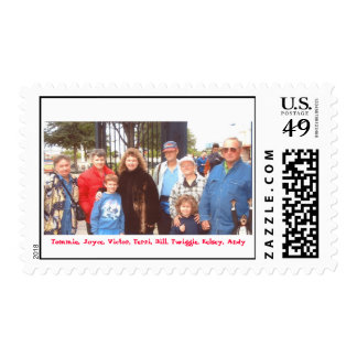Family Trip to Six Flags on October 23, 2005 2.... Postage