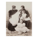 FAMILY TSAR NICOLAS & TSARINA Romanov Russia #297 Postcards