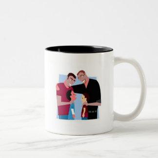Family Two-Tone Coffee Mug