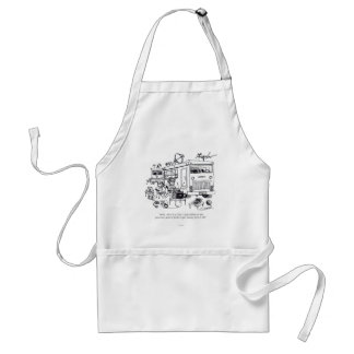 Family Vacation Adult Apron