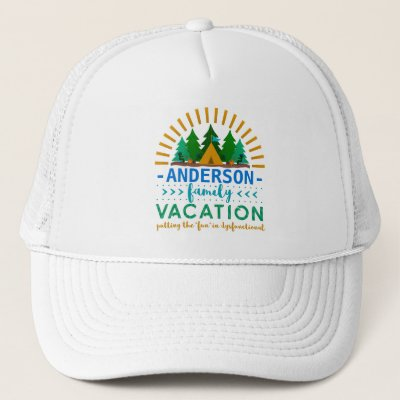 4318e408c93 Camping Is In Tents Funny Pun Trucker Hat