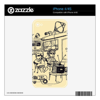 Family Vacation iPhone 4S Decals