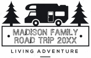 Family Vacation Name Road Trip Camper RV Motorhome T Shirt