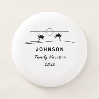 Family Vacation Wham-O Frisbee