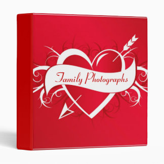 Family Values - Designer Photo Album 3 Ring Binder