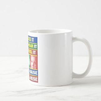 Family Violence Classic White Coffee Mug