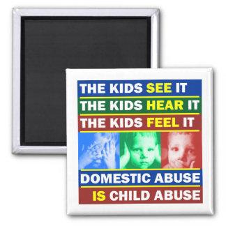 Family Violence Fridge Magnet