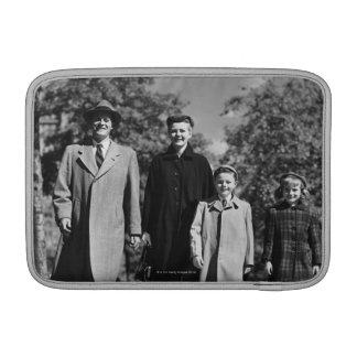 Family Walking MacBook Air Sleeve