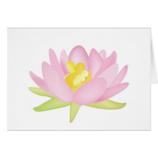 Family Water Lilly Card