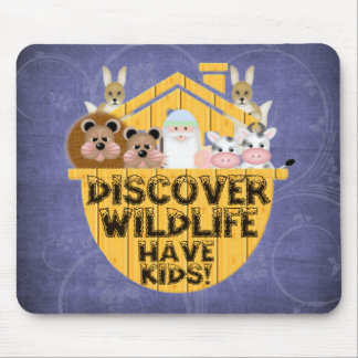 Family Wildlife Mouse Pad
