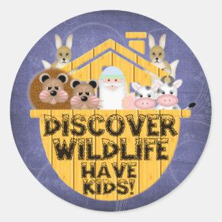Family Wildlife Sticker