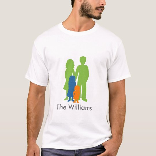Family With 2 Daughters T-Shirt
