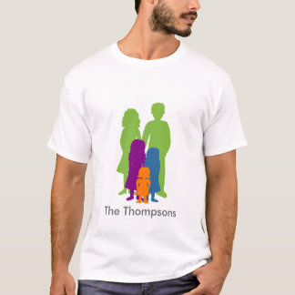 Family with 3 Daughters T-Shirt