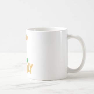 FAMILY words with love heart balloons Coffee Mug