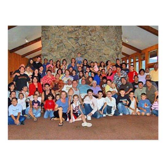 familyreunion postcard