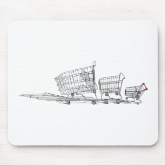 FamilyShoppingCarts022111 Mouse Pad