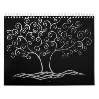 familytree calendario de pared