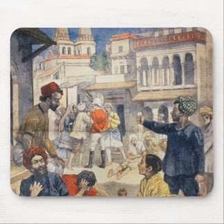 Famine in India Mouse Pad
