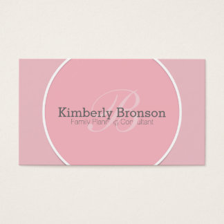 Famly Planning Business Cards