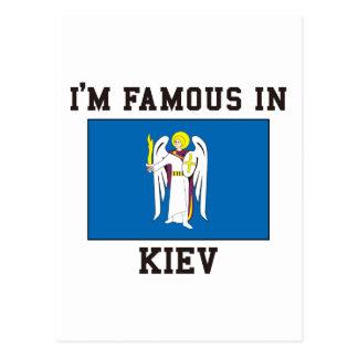 Famoso en Kiev Tarjetas Postales