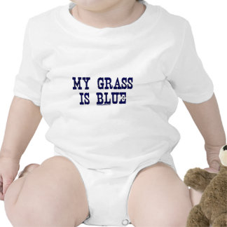 Famoso mi hierba es azul camiseta