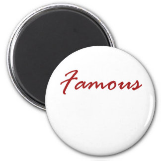 Famous 2 Inch Round Magnet