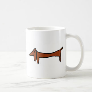 Famous Abstract Dachshund Coffee Mug