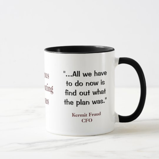Famous Accounting Quotes Funny And Profound CFO Mug Zazzle Stunning Accounting Quotes