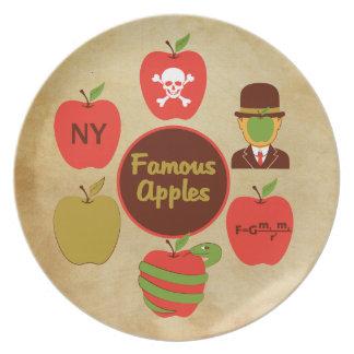 Famous Apples Dinner Plates
