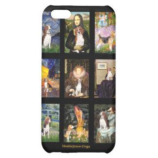 Famous Art Beagle Comp 1 Case For iPhone 5C