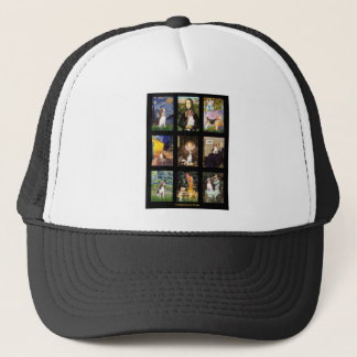 Famous Art Beagle Comp 1 Trucker Hat