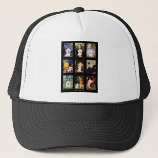 Famous Art Bichon Frise Composite Trucker Hat