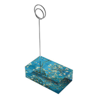 Famous art - Blossoming Almond Tree. Vincent van Table Number Holder