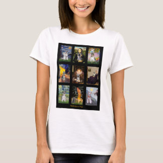 Famous Art French Bulldog Composite T-Shirt