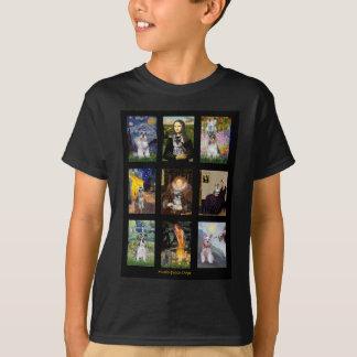 Famous Art French Bulldog Composite T-Shirt