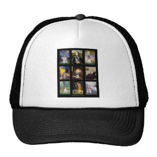 Famous Art French Bulldog Composite Trucker Hat