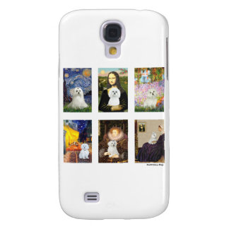 Famous Art Maltese Composite (clear) Samsung Galaxy S4 Cases
