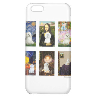 Famous Art Maltese Composite (clear) Cover For iPhone 5C