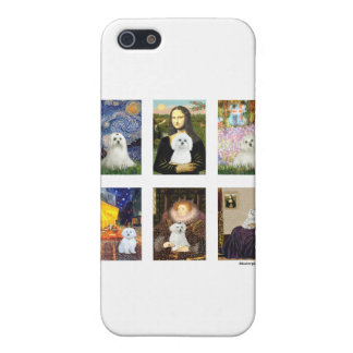 Famous Art Maltese Composite (clear) Covers For iPhone 5