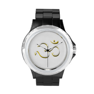 Famous Art of Om Symbol Fashion In Style Watch