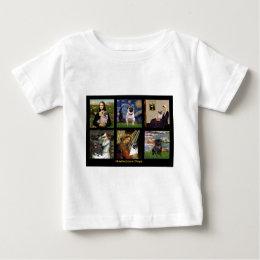 Famous Art Pug Composite #1 Baby T-Shirt