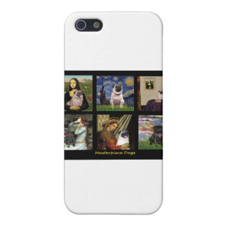 Famous Art Pug Composite #1 Case For iPhone 5