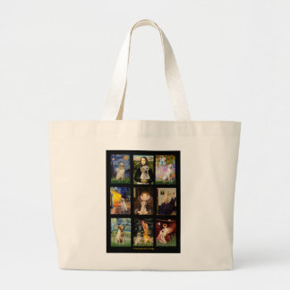 Famous Art Yellow Lab Composite Tote Bag