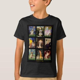 Famous Art Yellow Lab Composite T-Shirt