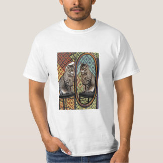 Famous Artists Cats Cat In A Mirror T-Shirt