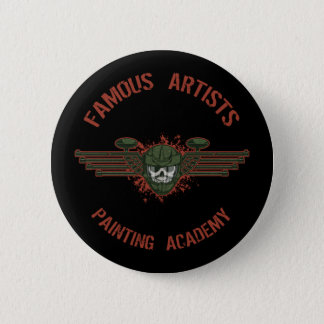 Famous Artists Paintball Button